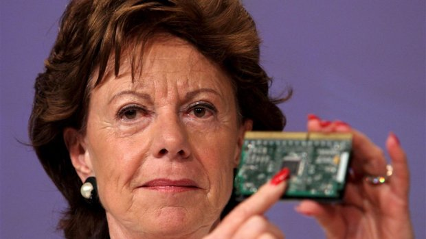 Neelie Kroes start-up