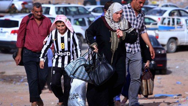 Miljoen Irakezen op de vlucht voor ISIS