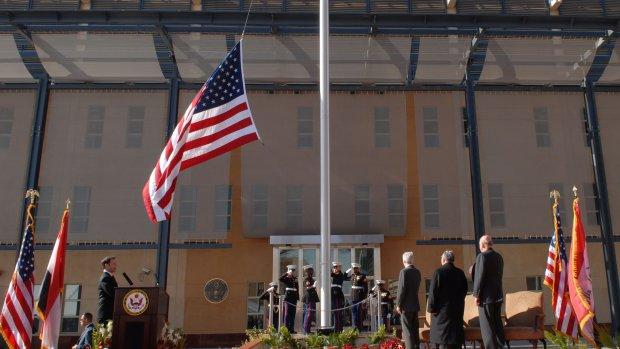 Ambassade VS in Irak evacueert deel personeel