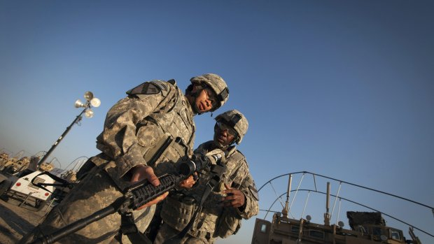 Amerikaanse militairen naar Irak