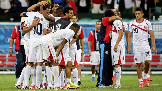 Kranten in Costa Rica roemen team