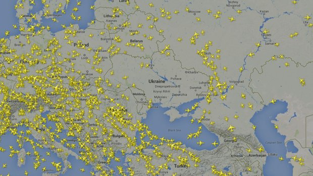 Was vliegen boven conflictgebied Oekraïne verantwoord?