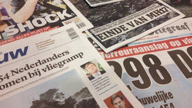 Kranten: 'Neergehaald' en 'in shock'