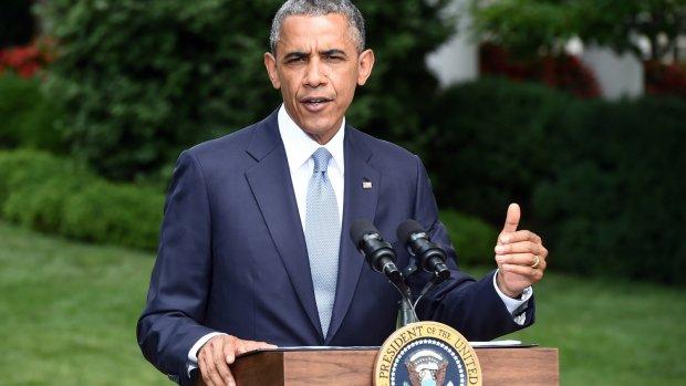 'Obama overweegt luchtaanvallen Irak'