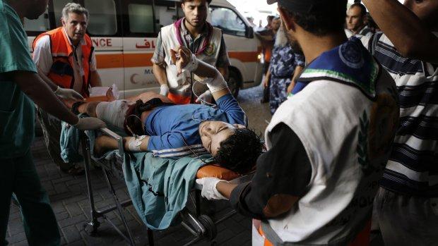 'Beschieting VN-school is oorlogsmisdaad'