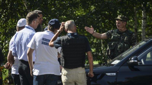OVSE-onderzoekers vast bij checkpoint Oekraïens leger