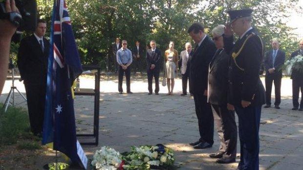 Herdenking van Australische slachtoffers vliegramp