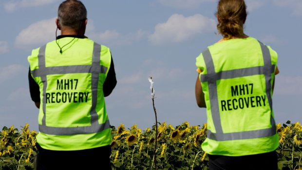 Oekraïense dienst gaat zoeken in rampgebied MH17