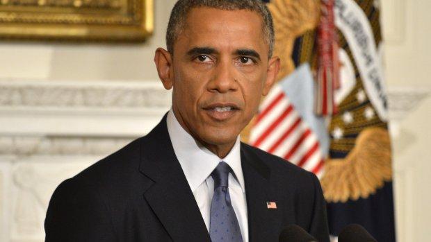 Obama: Luchtaanvallen op ISIS