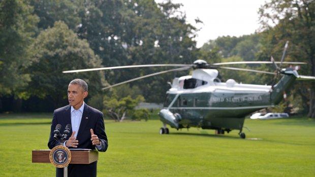 Obama wil yezidi's in veiligheid brengen