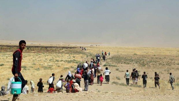 Ruim 5000 yezidi's gered uit bergen Irak