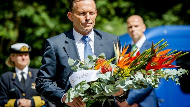 MH17: Abbott gaat er 'met gestrekt been in' bij Poetin