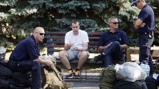 Deze onderzoekers blijven in Oekraïne
