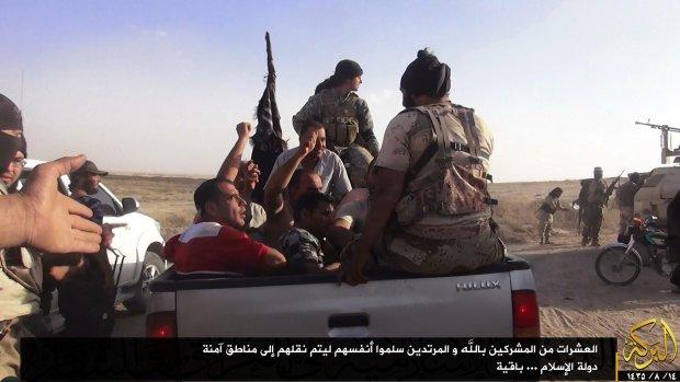'IS executeert 250 Syrische soldaten'