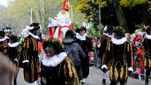 Speciale demonstratieplekken tijdens Sinterklaasintocht