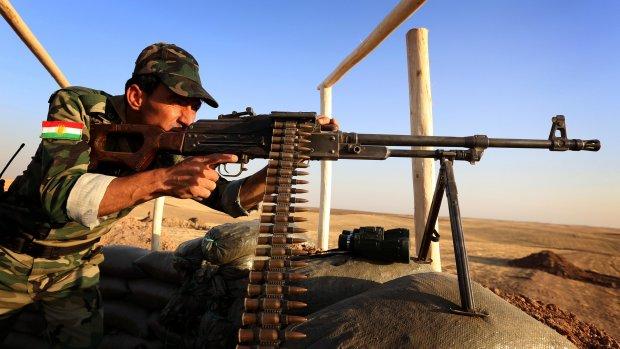 Nederland wil wapens naar Koerden vervoeren