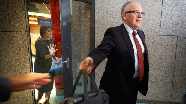 'Kabinet schuift Timmermans naar voren als eurocommissaris'