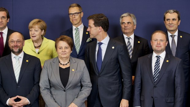 EU-top draait vandaag om banen en brandhaarden