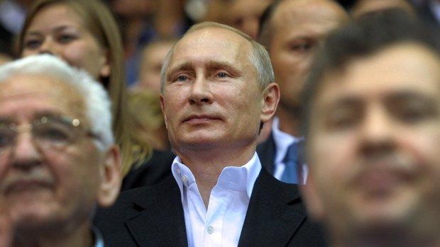 'Beschuldigingen Poetin afgeschilderd als westers complot'