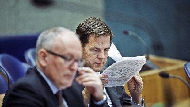 Post Timmermans bekend, maar Rutte zwijgt