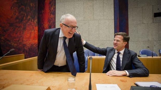 Rutte bevestigt Europese voordracht Timmermans