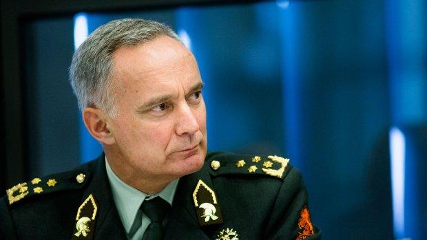 Legerchef Middendorp: 'We balanceren op het randje'