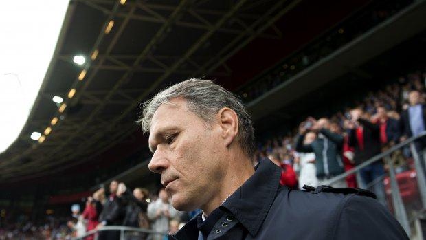 Bronnen: vertrek Van Basten na weekend aangekondigd