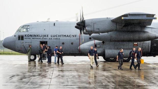 Vliegtuig met materieel voor MH17-missie naar Oekraïne