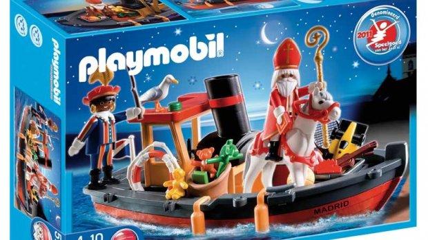 Playmobil staakt productie Zwarte Piet-poppetjes