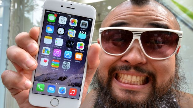 Eerste contact met de iPhone 6: zo voelt het