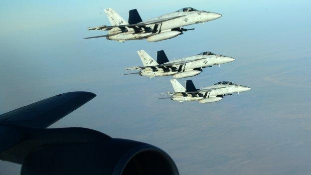 Eerste luchtaanval VS bij Kobani
