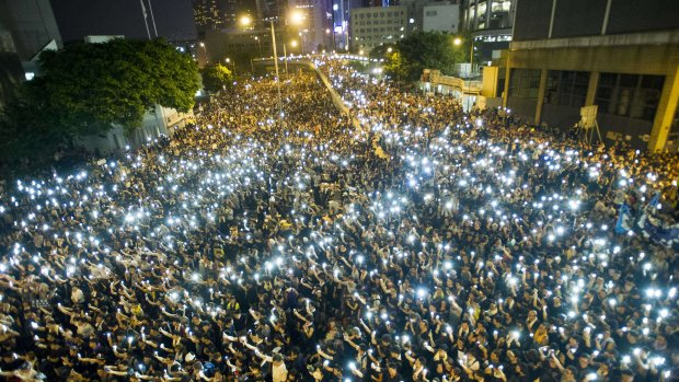 Dode bij protest Hongkong: betogers woedend