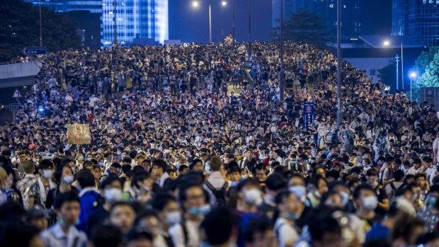 'Bluetooth-chatapp erg populair onder demonstranten Hongkong'
