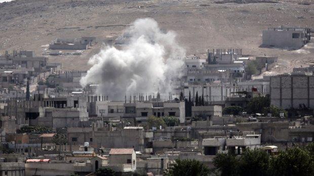 'Kobani dreigt in handen IS te vallen'