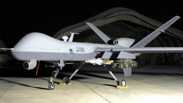 Britten zetten drones in boven Syrië