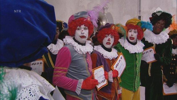 Nu ook clownspieten in Sinterklaasjournaal