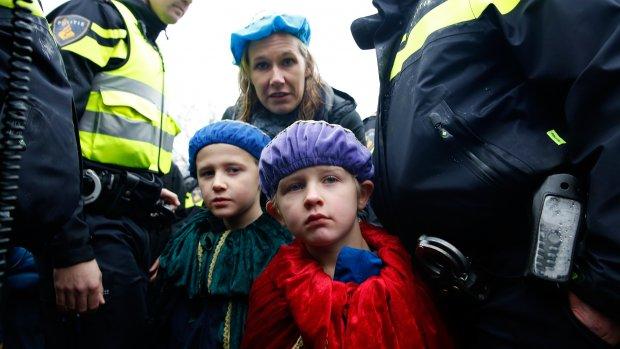 Pietverdriet: kinderen zien de opstootjes