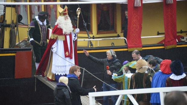 Sinterklaas is aangekomen in Gouda