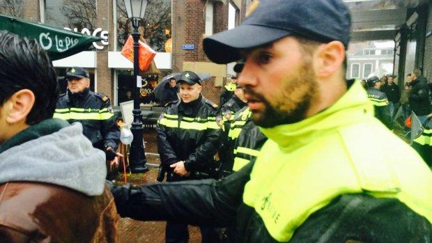 Arrestatie na arrestatie bij intocht Sinterklaas