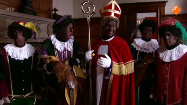 Sinterklaasjournaal sluit af met zwarte hulpsint
