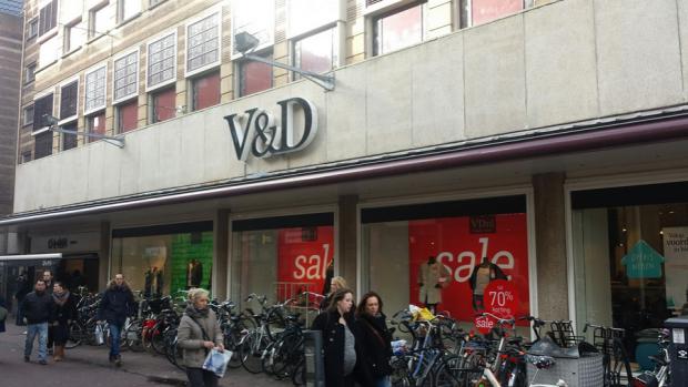 V&D neemt zelf woord 'faillissement' in de mond