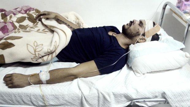 Richard Jansen zwaargewond in Syrië