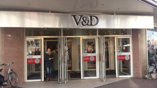Topoverleg in Amsterdam over V&D