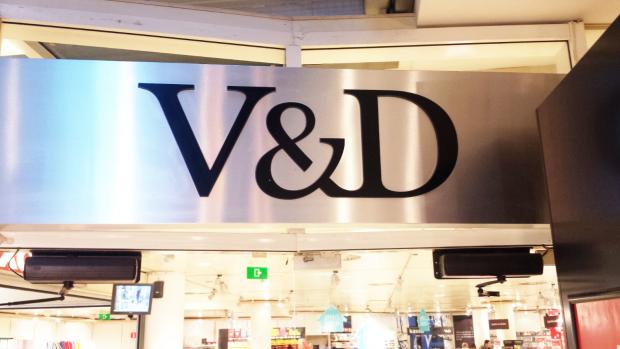 Dossiers van medewerkers V&D op straat