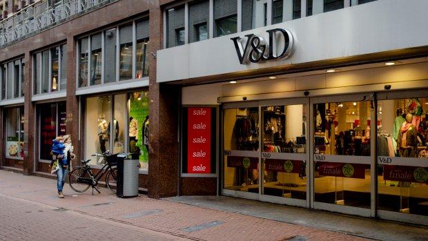 V&D-cadeaukaart als kerstpakket? Dikke pech