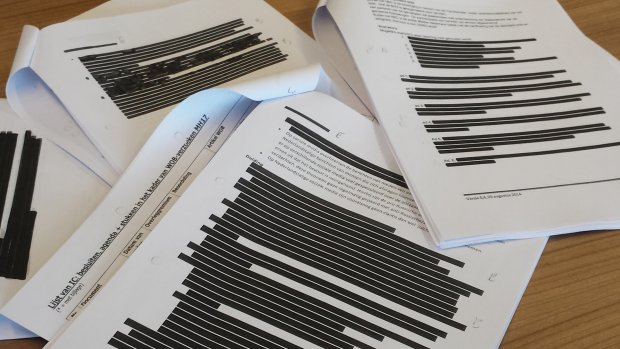 MH17-stukken openbaar? Kabinet maakt veel onleesbaar