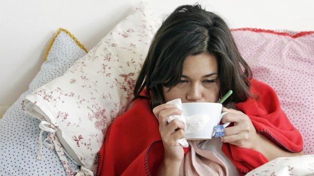 Helft zieken op werk is helemaal niet ziek