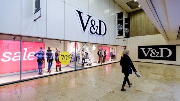 V&D koerst opnieuw af op groot verlies