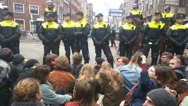'Actievoerders Bungehuis vandaag vrij'