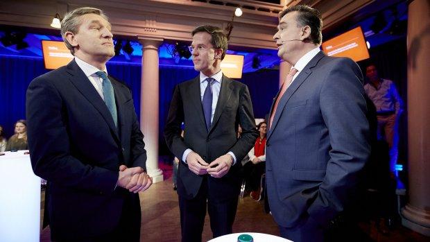 Peiling: vijf partijen strijden om verkiezingszege